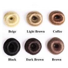 Модные элегантные женские Волшебные пончики для волос для девушек заколка для пучка Инструменты для укладки волос аксессуары