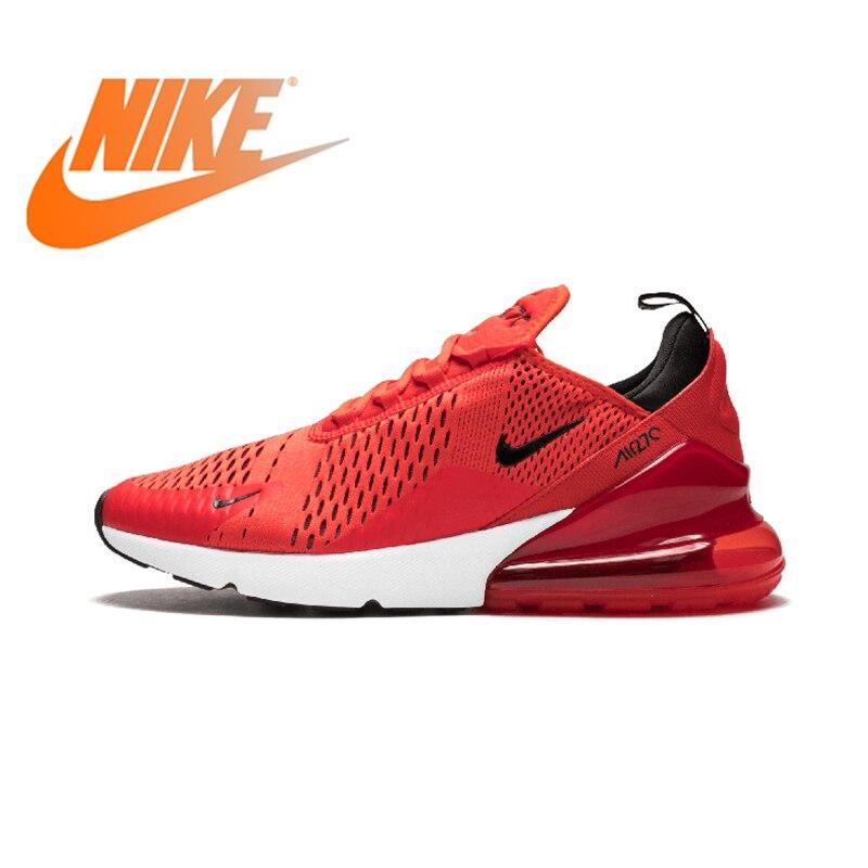 Original Nike Air Max 270 180 hommes chaussures de course baskets Sport extérieur 2018 nouveauté authentique extérieur respirant Designer