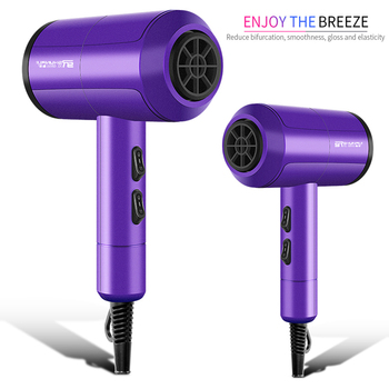 Professional Hair Dryer Salon Negative Ion Blow Dryer Electric Hairdryer Barber Salon Tools Hot Cold Wind Air Collecting  Nozzle professional hair dryer salon negative ion blow dryer electric hairdryer barber salon tools hot cold wind air collecting nozzle