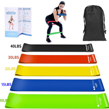Fitness-Equipment Rubber Yoga-Resistance-Bands-Set Stretching Loop Exercise Body-Pilates