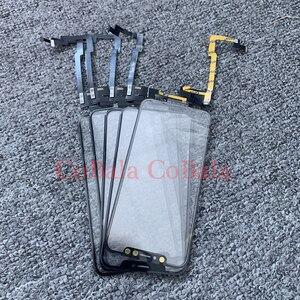 Image 1 - 1 sztuk działa wszystkie IOS dla Apple iPhone X XS MAX bez spawania ekran dotykowy Digitizer czujnik przedni szklany obiektyw zewnętrzny Panel Flex Cable
