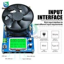 Probador de CC, carga electrónica, batería de litio, Monitor de capacidad, carga de descarga, fuente de medición de potencia, comprobador de resistencia de corriente