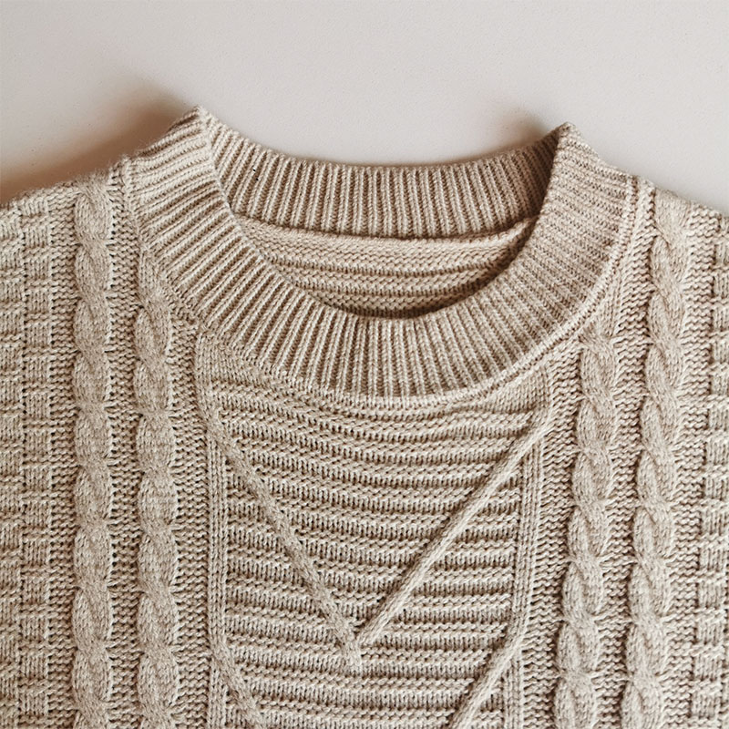 Casual Loose Sweater Blouse