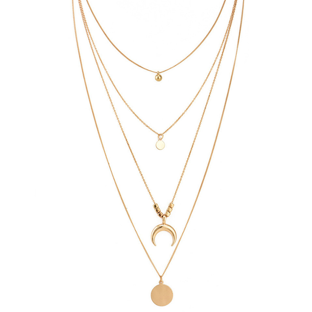 Vintage Multilayer Choker Necklace for Women