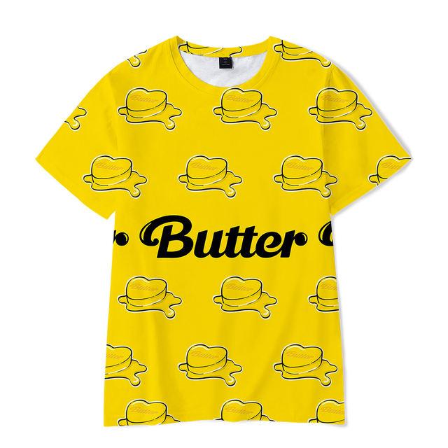BTS BUTTER THEMED T-SHIRT (7 VARIAN)