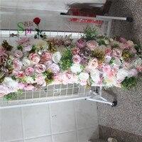 SPR silk arch flower wholesale wedding rose flower arch flower