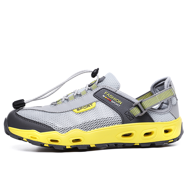 Lightweight Breathable Sneakers Men Quick-drying Upstream Shoes Male Outdoor Mesh Aqua Shoe Non-slip Hiking Barefoot Footwear