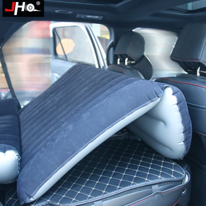 Image 3 - JHO SUV Car Inflatable Mattress Flocking Travel Air Bed With Air Pump Universal Auto Portable Outdoor Camping Moisture proof Pad