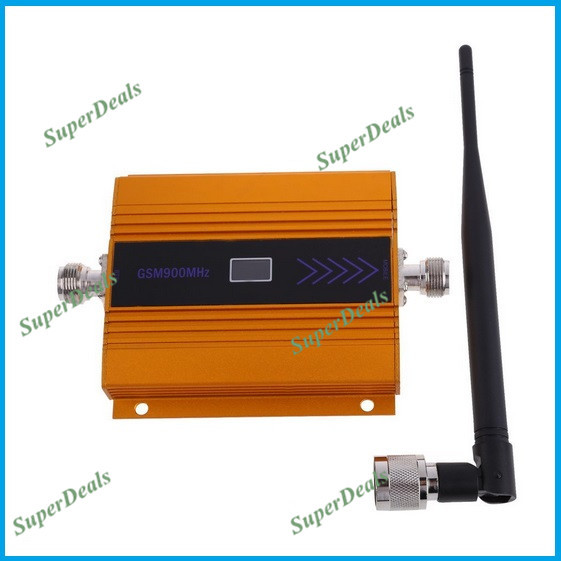 ZQTMAX Mini GSM Cell Phone Signal Booster 900 Mhz 2g Signal Repeater With Indoor Antenna