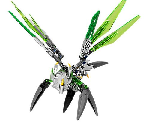 XSZ 609-1 Biochemical Warrior Bionicle Uxar Creature of Jungle Bricks Toys Building Blocks Compatible with 71300 1