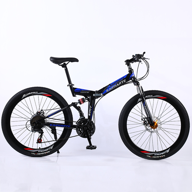 2020 New Folding Mountain Bike 26 Inch 21 Speed 24 Speed 27 Speed Fashion Mountain Bike Bicycle Off-road Vehicle Gift Bike