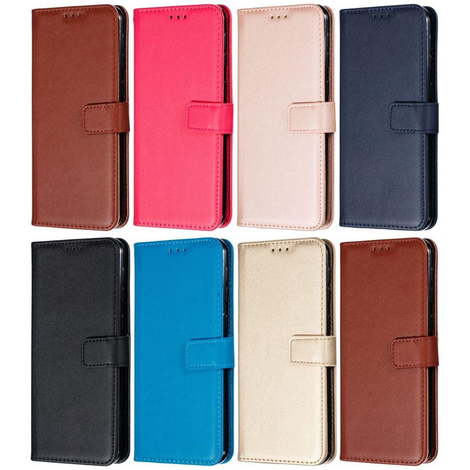 Solid Color Wallet Man Woman <font><b>Phone</b></font> <font><b>Case</b></font> <font><b>For</b></font> <font><b>Samsung</b></font> <font><b>Galaxy</b></font> <font><b>J100</b></font> J120 J1 2016 J2 Pro 2018 J310 J330 J3 2017 J2 Prime G532F E21E image