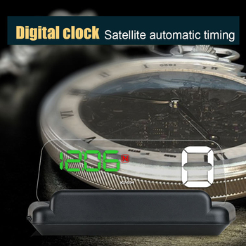 Diagnostic Tool Gauge With GPS Universal Safety Head Up Display Driving Direction Overspeed Alarm HD Projection Car Speedometer