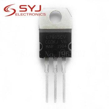 10pcs/lot L7805CV L7805 7805 TO-220 In Stock - discount item  8% OFF Active Components