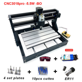 CNC3018pro Laser Engraver 5500mw with Offline Controler GRBL ER11 PCB Router Machine Mini Laser Engraving Machine Woodworking цена 2017