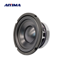 AIYIMA 6.5 Inch Sound Amplifier Speaker 4 8 Ohm 100W Subwoofer Speaker HiFi Loudspeaker For Home Theater Car Audio