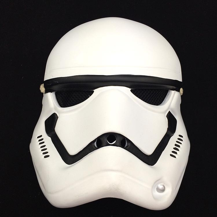 Résine Star Wars Masque Masque Dark Vador Soldats Blancs Masque Halloween Boule De Maquillage Accessoires En Gros
