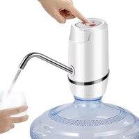 Usb 충전 전기 워터 디스펜서 휴대용 갤런 마시는 병 스위치 스마트 무선 워터 펌프 물 치료기구