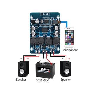 Image 5 - TPA3118 Bluetooth Amplifier Board Dual Channel 2*45W Stereo Audio Bluetooth Digital power Amplifier DC12 28V For Amplifiers DIY