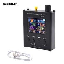 Wishcolor PS100 137.5MHz   2.7GHz UV RF אנטנת Analyzer SWR Meter Tester עם אלומיניום סגסוגת פגז להחליף N1201SA