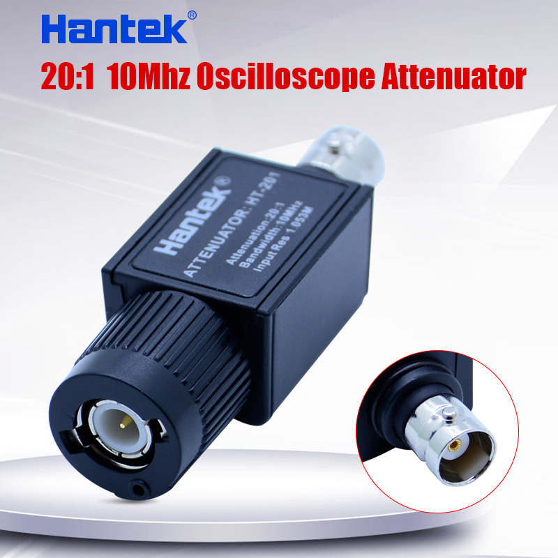 Hantek HT201 20:1 <font><b>10Mhz</b></font> <font><b>Oscilloscope</b></font> Attenuator for Automotive Diagnostics Bandwidth: <font><b>10MHz</b></font> Input Res: 1.053M image