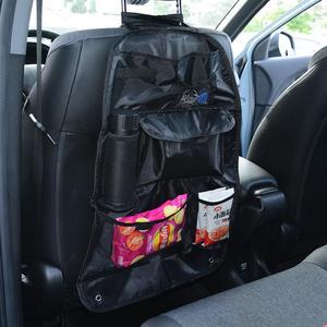 Image 5 - Assento de carro saco de armazenamento multi bolso organizador banco traseiro automático arrumado bolsa acessórios