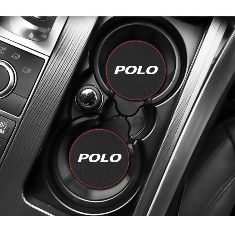 1 шт. Автомобильный держатель для бутылки с водой, противоскользящая подставка для Volkswagen VW POLO 2009 2011-2020, автомобильные аксессуары