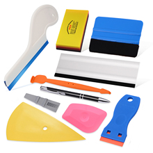 EHDIS Car Vinyl Wrap Styling Tools Glass Protective Film Cover Install Soft Squeegee Window Tint Remover Water Cleaning Scraper