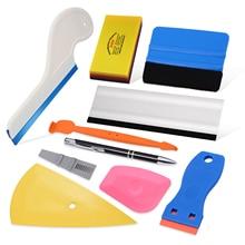 EHDIS envoltura de vinilo para coche, herramientas de estilismo, protector de vidrio, cubierta de película, instalar escurridor suave, eliminador de tinte de Ventanilla, raspador de limpieza de agua