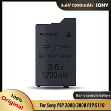 1pc 1200mah bateria de substituição para sony psp2000 psp3000 psp 2000 3000 psp s110 gamepad para playstation controlador portátil