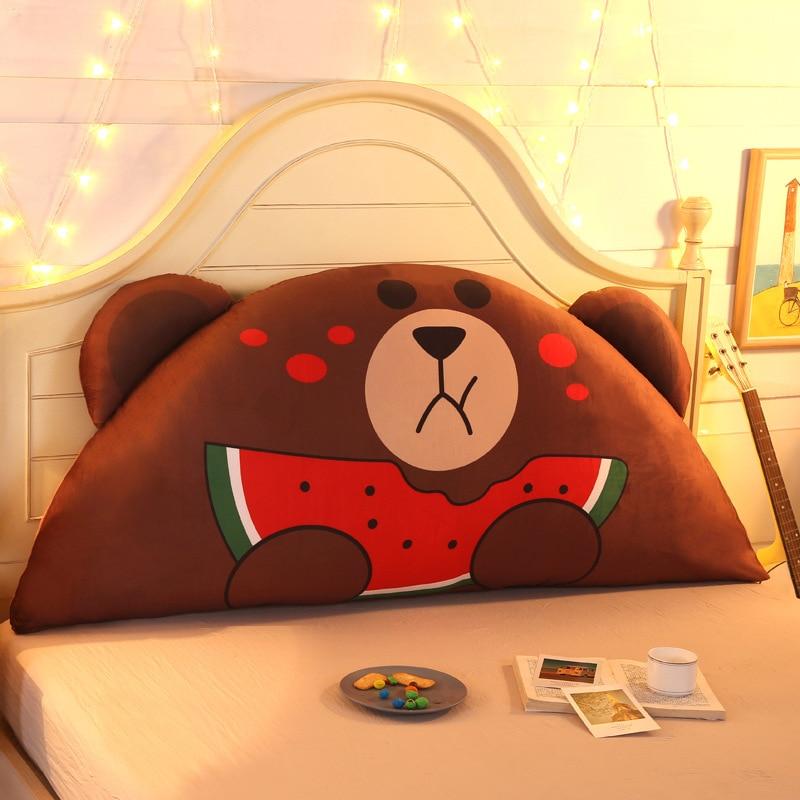 Cojín de noche de dibujos animados lindo almohada de niño almohadilla trasera de la cama cojín de la princesa coreana Tatami suave bolsa grande cojín del asiento trasero - 3