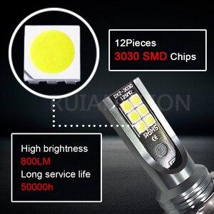 Image 4 - RUIANDSION 2Pcs 12 3030SMD 800Lm H11B H8B Energy Efficient LED Fog Bulb Car Head Light 10V 30V 12V 24V White 6000K  For KIA Ford