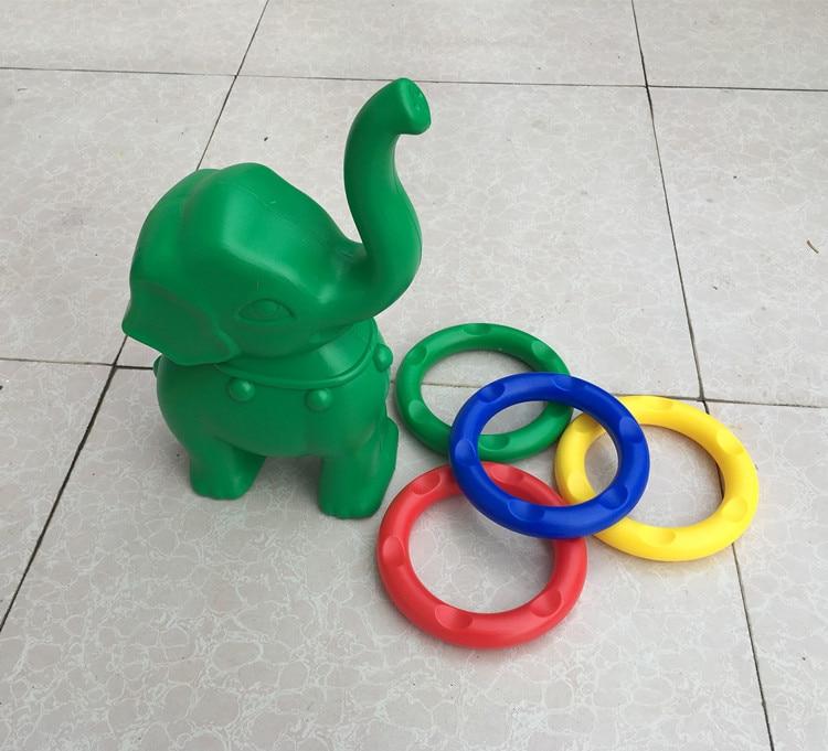 sport toy Kindergarten Baby Elephant Rings Children's Outdoor Toys Playground Training System Throwing Unisex Gymnastics