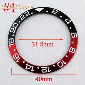Image 5 - Panis boîtier de montre pour hommes, en titane/céramique, 40mm, automatique 43mm