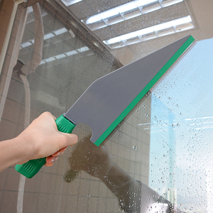 Image 2 - EHDIS Rubber Scraper Car Window Glass Tint Squeegee Anti slip Handle Water Wiper Dust Snow Removal Cleaning Tool Household Brush