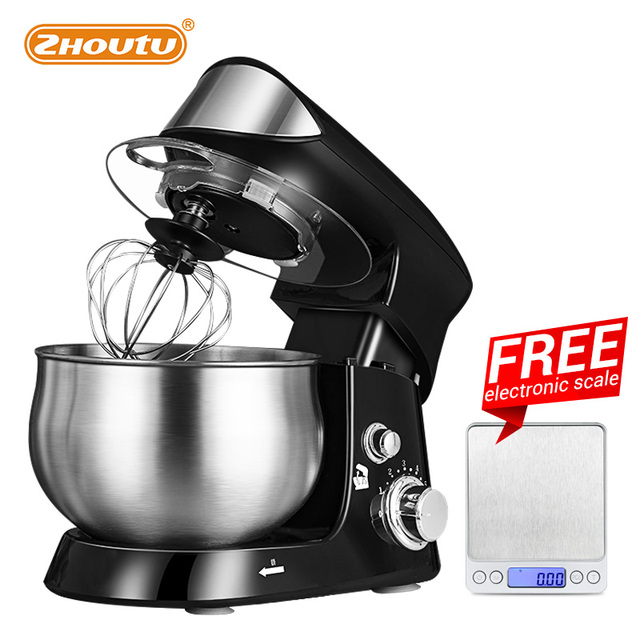 Zhoutu Planetary Mixer, Stainless Steel Mixer with bowl, Electric Food Mixer , kitchen appliances dough food processor machine