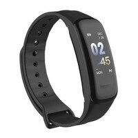 C1Plus умный браслет Цветной счетчик шагов фитнес-трекер пульсометр кровяное давление смарт-браслет для IOS наручные часы для Android