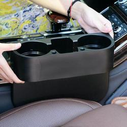 Najnowszy 3 w 1 uchwyt na kubek samochodowy fotel samochodowy Gap kubek wody butelka do picia telefon Organizer do kluczy uchwyt do przechowywania napój półka organizator samochodu