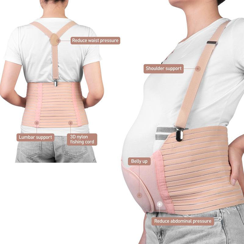 Adjustable Breathable Maternity Belt Belly Band Abdominal Waist Care Belt Support Belt For Pregnancy Pregnant Women