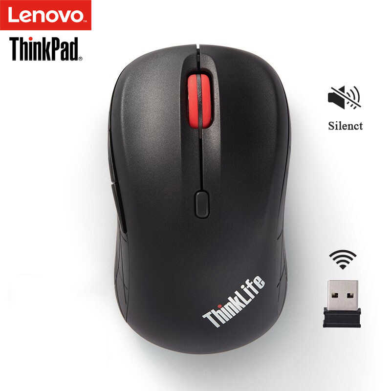 Lenovo ThinkPad WLM200 Nirkabel Mouse Diam Laptop PC Office Home Universal Thinklife Mouse