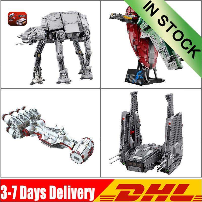 IN Stock Rebel Blockade Runner 05050 05046 05062 05006 Building Bricks Compatible 75104 75060 05037 Slave I 10178 10019 75055