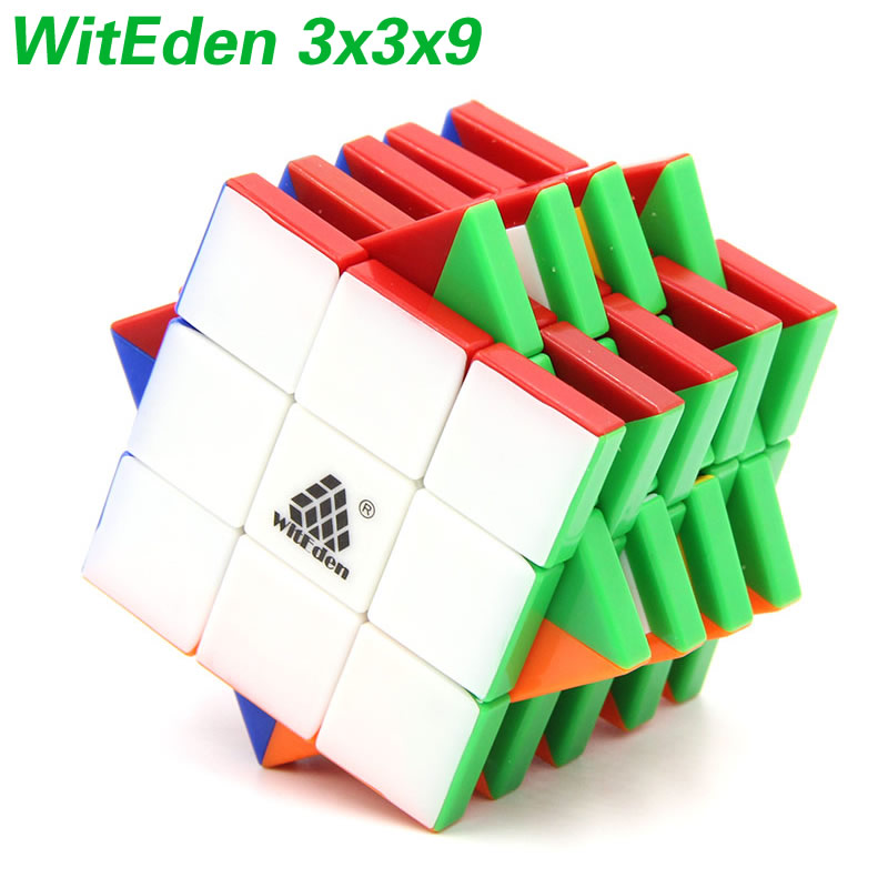 Original High Quality WitEden 3x3x9 Magic Cube 339 V1 Stickerless Speed Puzzle Gift Ideas Kids Toys For Children