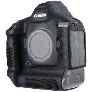 Image 1 - כיסוי עבור Canon 1DX סיליקון מצלמה מגן מקרה עבור Canon 1DX 1DX2 1DXII גבוהה כיתה ליצ י מרקם שאינו להחליק מצלמה כיסוי
