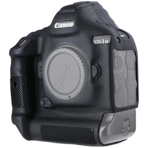 Image 1 - Cover for Canon 1DX Silicone Camera Protective Case for Canon 1DX 1DX2 1DXII High Grade Litchi Texture Non slip Camera Cover
