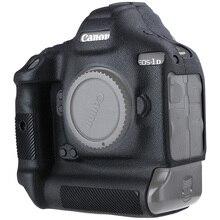 Funda protectora de silicona para cámara Canon 1DX, 1DX, 1DX2, 1dxii, textura de lichi de alto grado, antideslizante