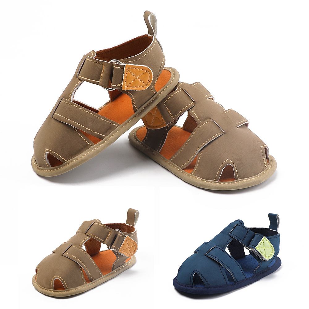 2019 New Baby Outing Sandals Soft Sole Baby Toddler Shoes Breathable Baby Shoes  For Boy Baby Sandals For 0-18M