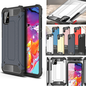 Shockproof Case For Samsung A50 A30 A10 A40 A70 S Case Armor Cover Case for Samsung Galaxy A51 A71 A01 A21 M20 M10 A7 2018 Cases