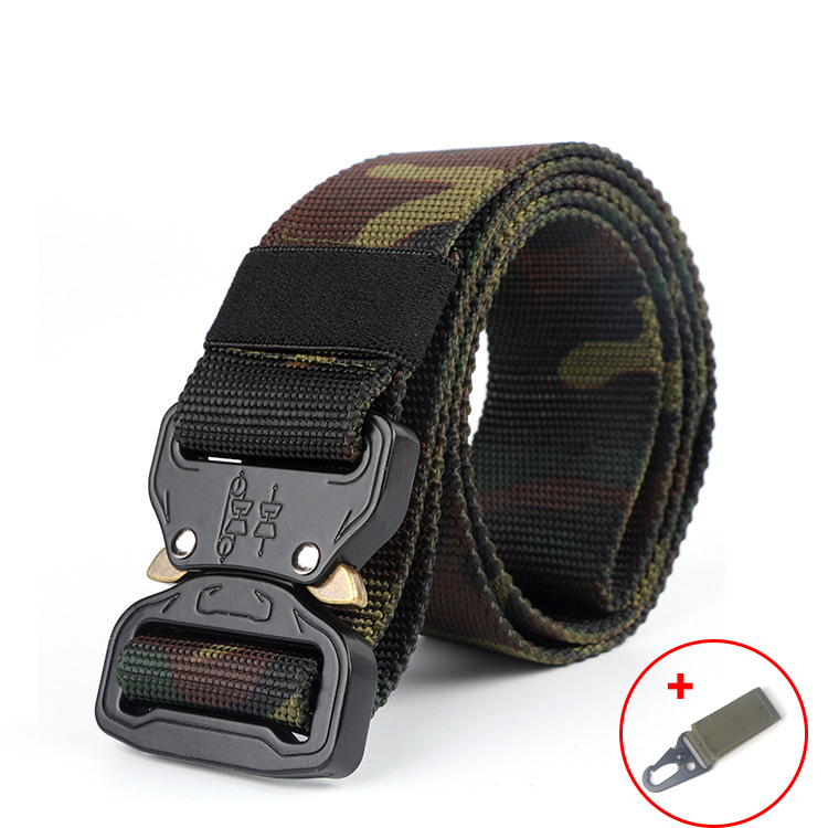 Mens Tactical Army Belt Molle Military Nylon Belt Outdoor Multifunctional Training Belt Men Waist Strap Jeans Ceintures Male