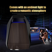 2Pcs Car Door Projector Lamp Wireless Light Sensing With Pin 2 Modes HD Protection Led Automatic Rechargeable Smart Induction