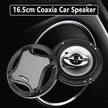 лучшая цена 2Pcs 16.5cm 400W Car Audio Coaxial Component Speakers Stereo 3 Way Auto Speakers Systems w/ Subwoofer HIFI Audio